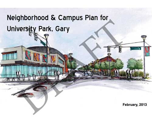 Neighborhood and Campus Plan for University Park, Gary