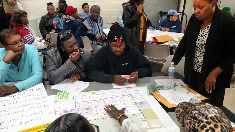 University Park residents contribute their voices at Community Meeting